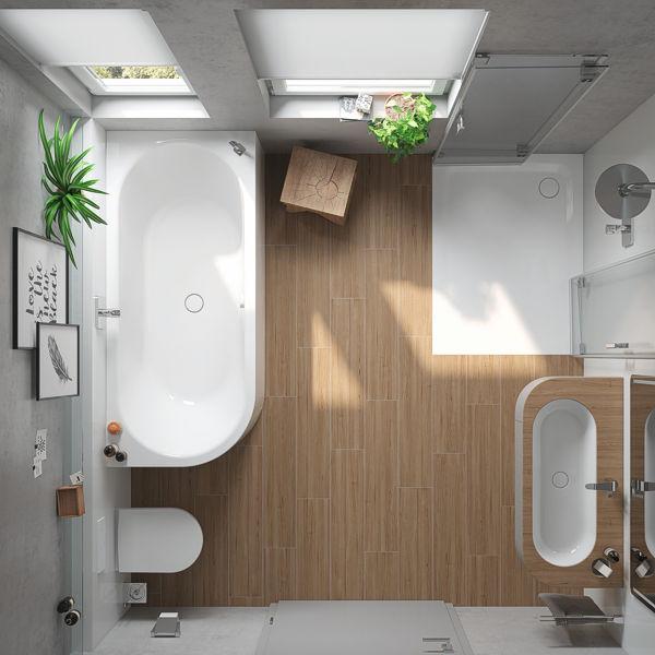 Ihr neues Badezimmer von Evers und kaiser Haustechnik in Rostock